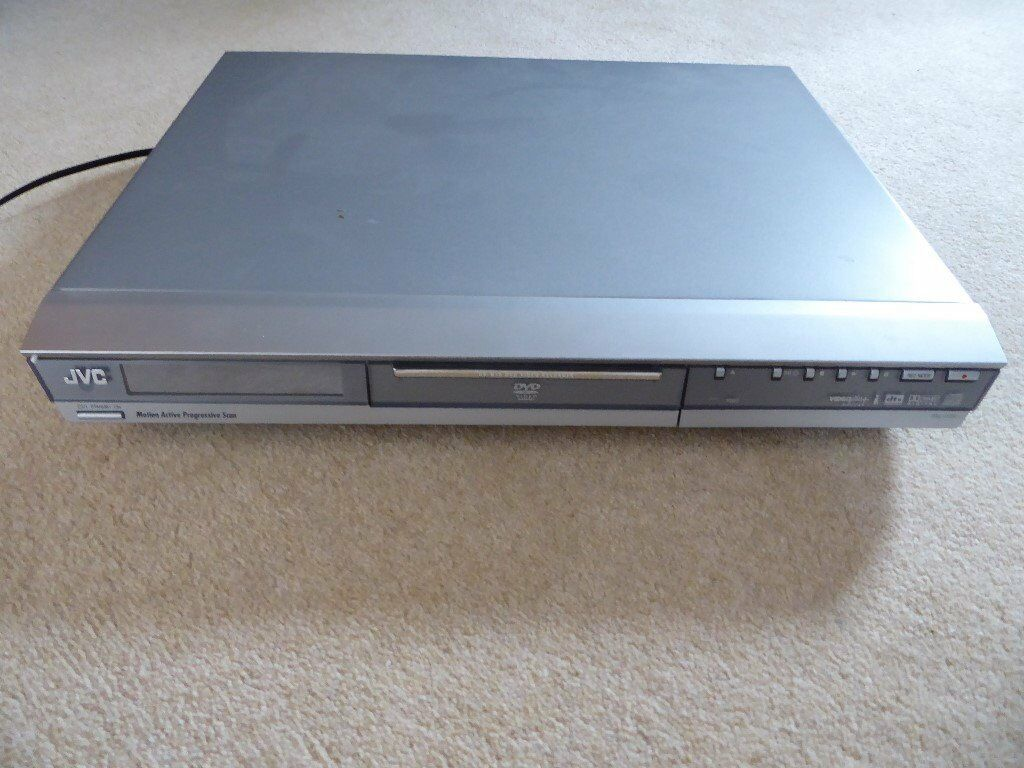 DVD RECORDER. JVC DR-M10S. In box with instructions & remote.