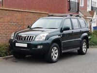 Toyota Landcruiser LC4 3.0 D4-D Auto (2003/03) + 7 Seater + Genuine 83K + FSH + Genuine Example +