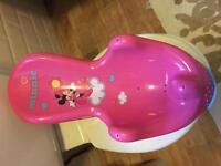 Minnie Mouse bath seat