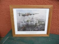 MICHAEL TURNER FRAMED PRINT IN REMEMBRANCE SIXTY YEARS