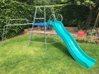 TP Explorer Climbing Frame with jungle run, slide and extension