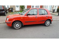 1999 Nissan Micra 1.3 16v GX 5dr --- Manual --- Part Exchange Welcome --- Drives Good