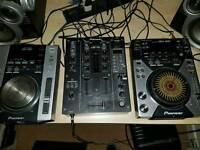 Pioneer DJM400, CDJ400 & CDJ200 for sale