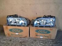 Ford Sierra Head Lights. Genuine Ford New Old Stock. Never Fittted Brand New - Christmas Gift