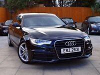 2012 AUDI A6 2.0 TDI S LINE AUTO ***SAT NAV+LEATHER+H/SEATS*** **** a4 a5 a7 bmw 5 series 3 e class
