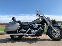KAWASAKI VULCAN 1600 BIG CUSTOM CRUSIER -VERY CLEAN -2005 MOTD-FINANCE AVAILABLE £4499
