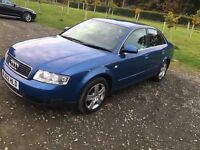 02 PLATE AUDI A4 INCREDIBLE CONDITION