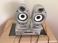 Stereo- Bush Single Disc, Radio and Twin Speakers- Excellent Condition