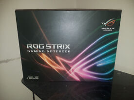 ASUS ROG Strix HERO gaming laptop for sale excellent condition as new
