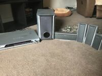 Sony S-Master Digital Amplifier Home Cinema Speakers