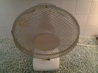 Cyclone Table Top Oscillating Fan - In Excellent Working Order & Condition-Proceeds To Local Charity