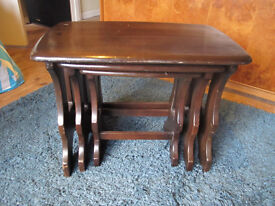 Ercol Set of 3 nesting tables