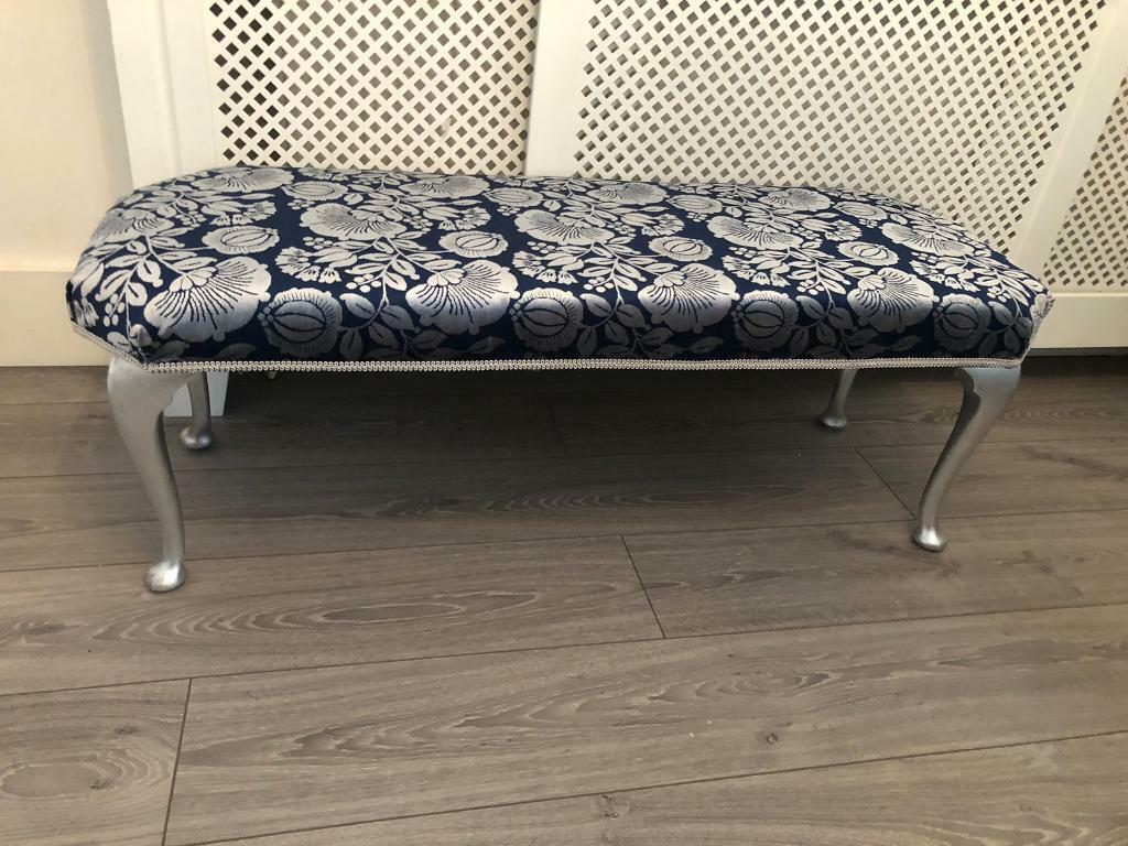Enjoyable Vintage Window Seat End Of Bed Stool Ottoman Cabriolet Legs Solid Oak In Carshalton London Gumtree Andrewgaddart Wooden Chair Designs For Living Room Andrewgaddartcom