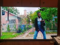 Sony bravia 4k 50 inch led tv freview smart apps has line on screen