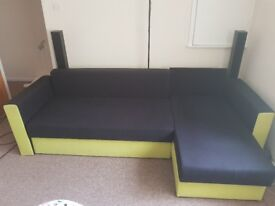 Corner sofa bed for sale collection only NOW RESERVED