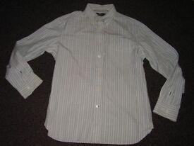 Blue Harbour Shirt Size Medium Fine Cotton New