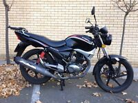 Learner-legal motorcycle KYMCO Pulsar 125