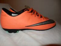 Nike Mercurial Victory V Firm Ground Mens Football Boots - Orange UK7.5