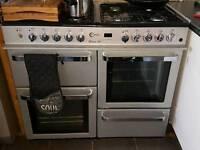 Milanlo 100 dual fuel range cooker