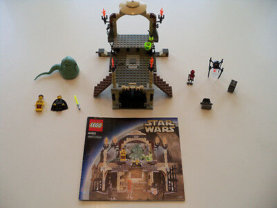 LEGO Star Wars - Rare Jabba's Palace 4480 - 100% complete