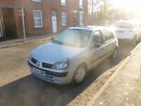 RENAULT CLIO 1.2 SPARES REPAIR RUNS AND DRIVES