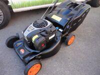 Flymo 18 inch Petrol Lawnmower.