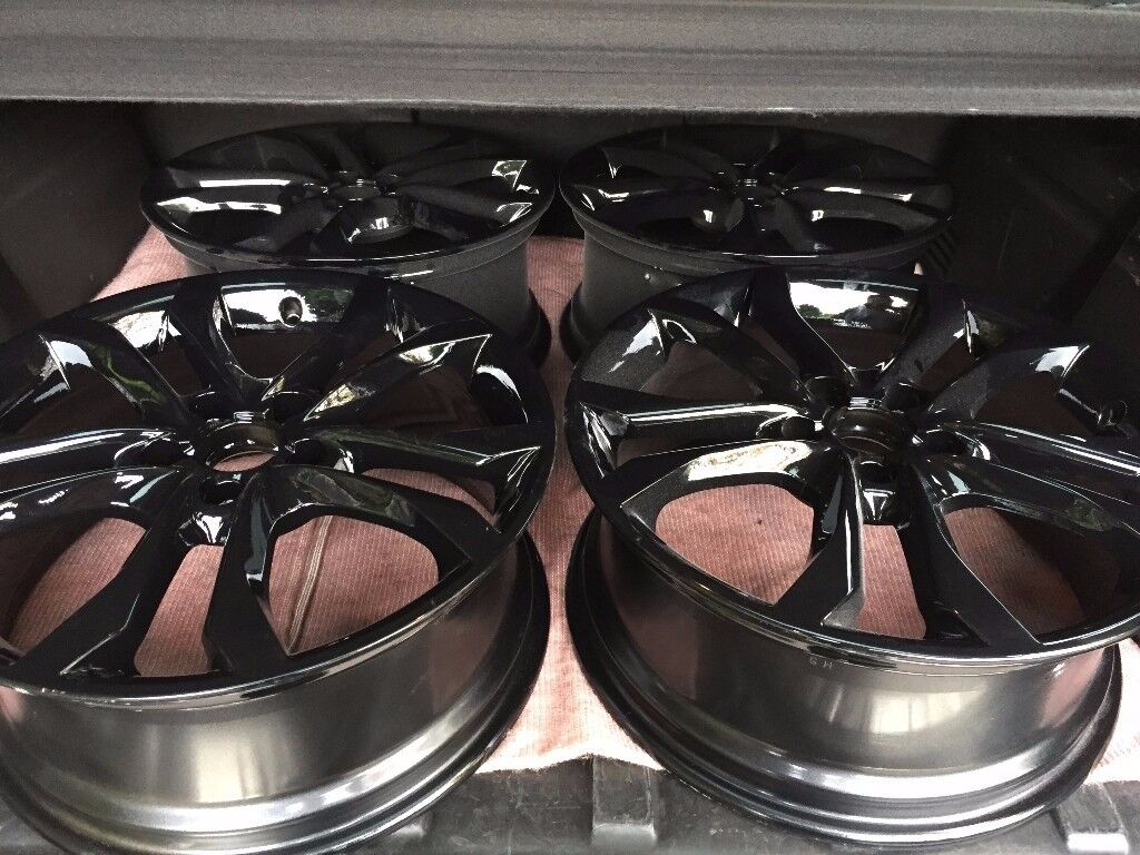 "5x112 18"" Audi S3 Genuine Alloys Gloss Black"