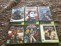 6 original Xbox games