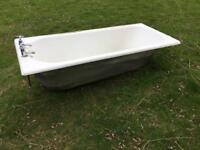 FREE Cast Iron Bath, complete with Waste & Taps