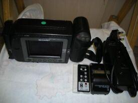 Sharp viewcam video 8 camcorder