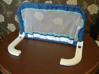 Single Safety extendable Kids Bed Rail Guard blue