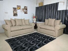 **EXPRESS DELIVERY** BRAND NEW WARM AND COSY RIO 3 + 2 SOFA UNIT ON SPECIAL OFFER'