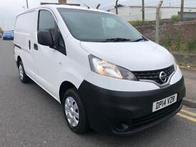 2014 14 Nissan NV200 1.5 DCI 90 Acenta Turbo Diesel White Van NO VAT
