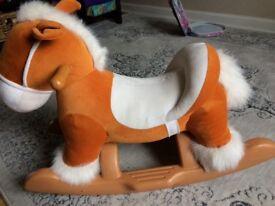 Ride on rocking horse