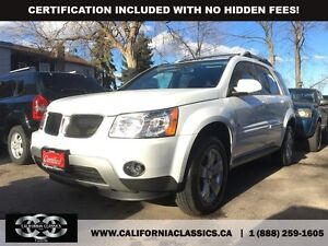 2008 Pontiac Torrent Leather and Sunroof