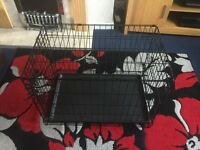 DOG CRATE ( CAGE ) TRANSPORTER MEDIUM SIZE