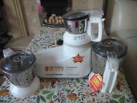 Panasonic Indian Mixie for sale. 3 Jars. Only 3 months used