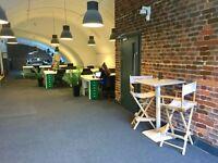 Office Desk in East London - flexible rental terms (day, week, month)! - 24/7 access