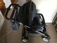 Silver Cross Travel System with Infant Seat, push chair, etc