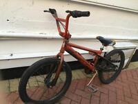 """BMX stunt bike Fully working. 20"""" wheels"""