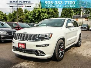 2014 Jeep Grand Cherokee SRT 4X4, GPS NAV, BLINDSPOT, SUNROOF, R