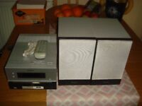 SONY CMT-BX7DAB MICRO Hi-Fi COMPONENT SYSTEM WITH CD/DAB/FM/AM & USB - IN GOOD CONDITION & WORKING