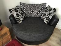 Large Cuddle Swivel Chair