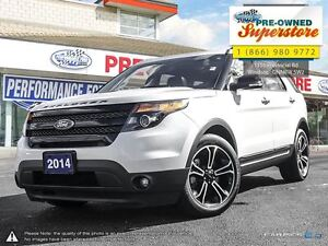 2014 Ford Explorer ***Sport, Dual Panel Sunroof, Rear DVD***