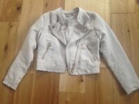 H&M Suede Jacket Age 9 - 10
