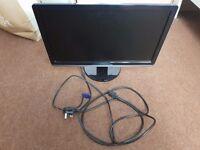 21.5 Inch Black Dell Monitor