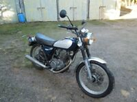 Yamaha SR500 restoration project