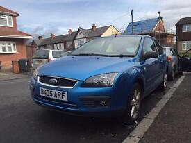 Ford Focus 1.6 2005 - 3dr - no logbook - drives good - not gold a3 307 civic
