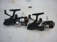 2 x Okuma interceptor pro reels with 3 spare spools Excellent condition