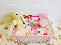 Bespoke baby hampers - ask for prices